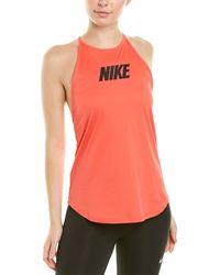 Nike Sport Distort Elastika Tank - Pink