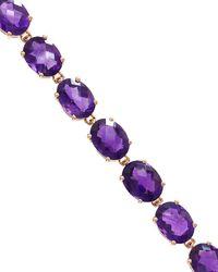 Effy Fine Jewellery 14k Rose Gold 22.50 Ct. Tw. Amethyst Bracelet - Purple