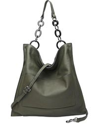 Tiffany & Fred Leather Tote - Green