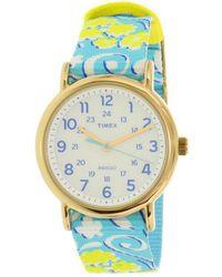Timex Women's Nylon Watch - Blue