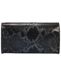 Giorgio Costa Leather Clutch - Black