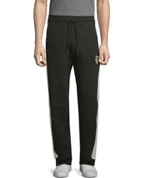 PUMA - Striped Colorblocked Sweatpant - Lyst