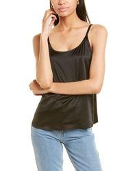 Eileen Fisher Silk-blend Cami - Black