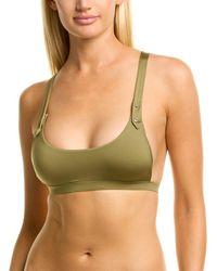 Monica Hansen Glamazon Sports Bikini Top - Green
