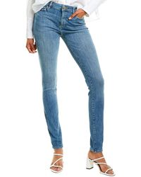 DL1961 Premium Denim Florence Knox Mid-rise Instasculpt Skinny Leg Jean - Blue