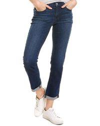 Hudson Jeans Krista Bell Straight Crop Jean - Blue