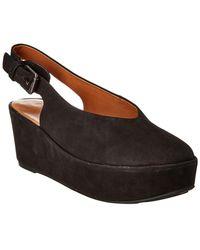 Gentle Souls Nyomi Leather Wedge Sandal