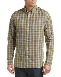 Victorinox - Swiss Army Mannliflue Linen-blend Woven Shirt - Lyst