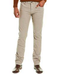 Hudson Jeans Blake Light Grey Slim Straight-leg Jeans