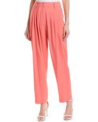 BCBGMAXAZRIA Pleated Pant - Pink