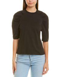 Jonathan Simkhai Calla Raglan T-shirt - Black