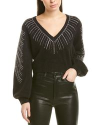 Ronny Kobo Carys Alpaca & Wool-blend Sweater - Black
