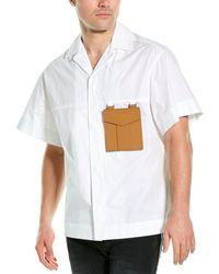 Palm Angels Sacred Heart Shirt - White