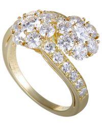 Heritage Van Cleef & Arpels - Van Cleef & Arpels 18k 2.50 Ct. Tw. Diamond Ring - Lyst