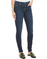 7 For All Mankind 7 For All Mankind Gwenevere Midnight Skinny Leg - Blue