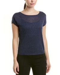 NIC+ZOE - Petite Linen-blend T-shirt - Lyst