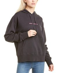 Spiritual Gangster Phoebe Oversized Hoodie - Black
