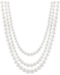 Splendid - 7.5-8.5mm Freshwater Pearl Endless 72in Necklace - Lyst