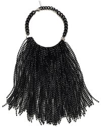 Lafayette 148 New York Falling Beads Necklace - Black