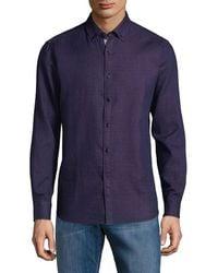 Report Collection Dress Shirt - Blue