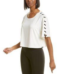 Koral Activewear Linear Brisa T-shirt - White