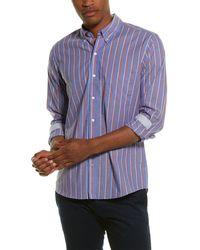 J.McLaughlin Westend Sport Shirt - Blue