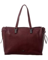 Vince Camuto Riley Large Leather Tote - Red