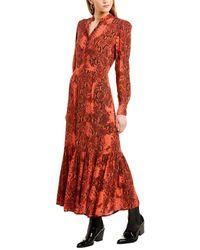 Notes Du Nord Monroe Maxi Dress - Red