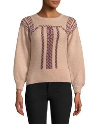 Antik Batik - Jyla Embroidery Sweater - Lyst