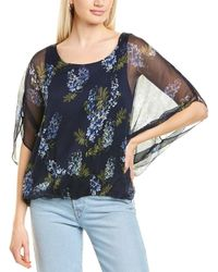 Vince Camuto Weeping Willows Top - Blue