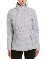 Barbour Hawse Quilted Water Resistant Jacket - White