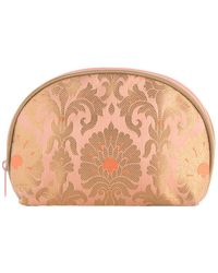 Shiraleah Small Montresor Makeup Pouch - Pink