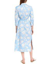 Marella Afgano Shirtdress - Blue