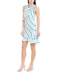 Parker Francie Ruched Midi Dress - Multicolour