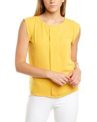 Tahari Tahari Asl Top - Yellow
