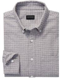 Club Monaco Slim Fit Jasper Shirt - Grey