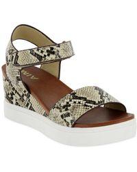 MIA Mia Cayla-s Wedge Sandal - Natural