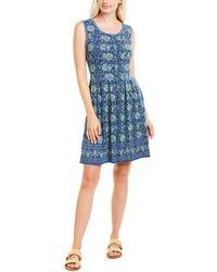 Max Studio A-line Dress - Blue