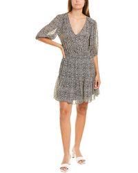 Velvet By Graham & Spencer Saskia Mini Dress - Brown