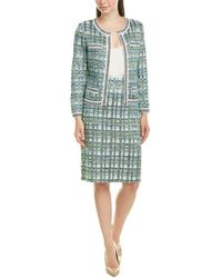 St. John Wool-blend Jacket - Green