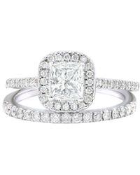 Diana M. Jewels . Fine Jewellery 14k 1.50 Ct. Tw. Diamond Ring - Metallic