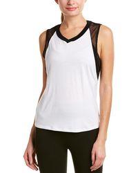 Body Language Sportswear Pax Tank - White