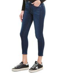 Joe's Jeans Honey Karli High-rise Curvy Skinny Crop - Blue