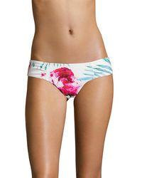 6 Shore Road By Pooja Diablo Bikini Bottom - Multicolor