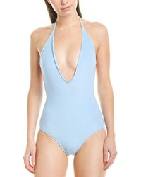 Suboo Terry Scoop One-piece - Blue