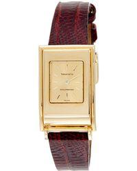Heritage Tiffany & Co. Tiffany & Co. Women's 1990s Schlumberger Watch - Metallic