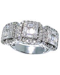 Arthur Marder Fine Jewelry 18k 1.15 Ct. Tw. Diamond Ring - Metallic