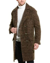 Brunello Cucinelli Wool & Alpa-blend Coat - Brown