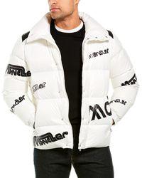 Moncler Giubbotto Down Jacket - White