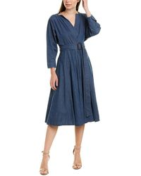 Weekend by Maxmara Weekend Max Mara A-line Dress - Blue